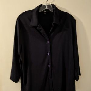 Black Blouse size XL made by AGB